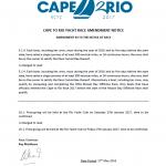 SAA Cape2Rio Promotion