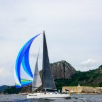 Yacht Ray of Light has crossed the finish line