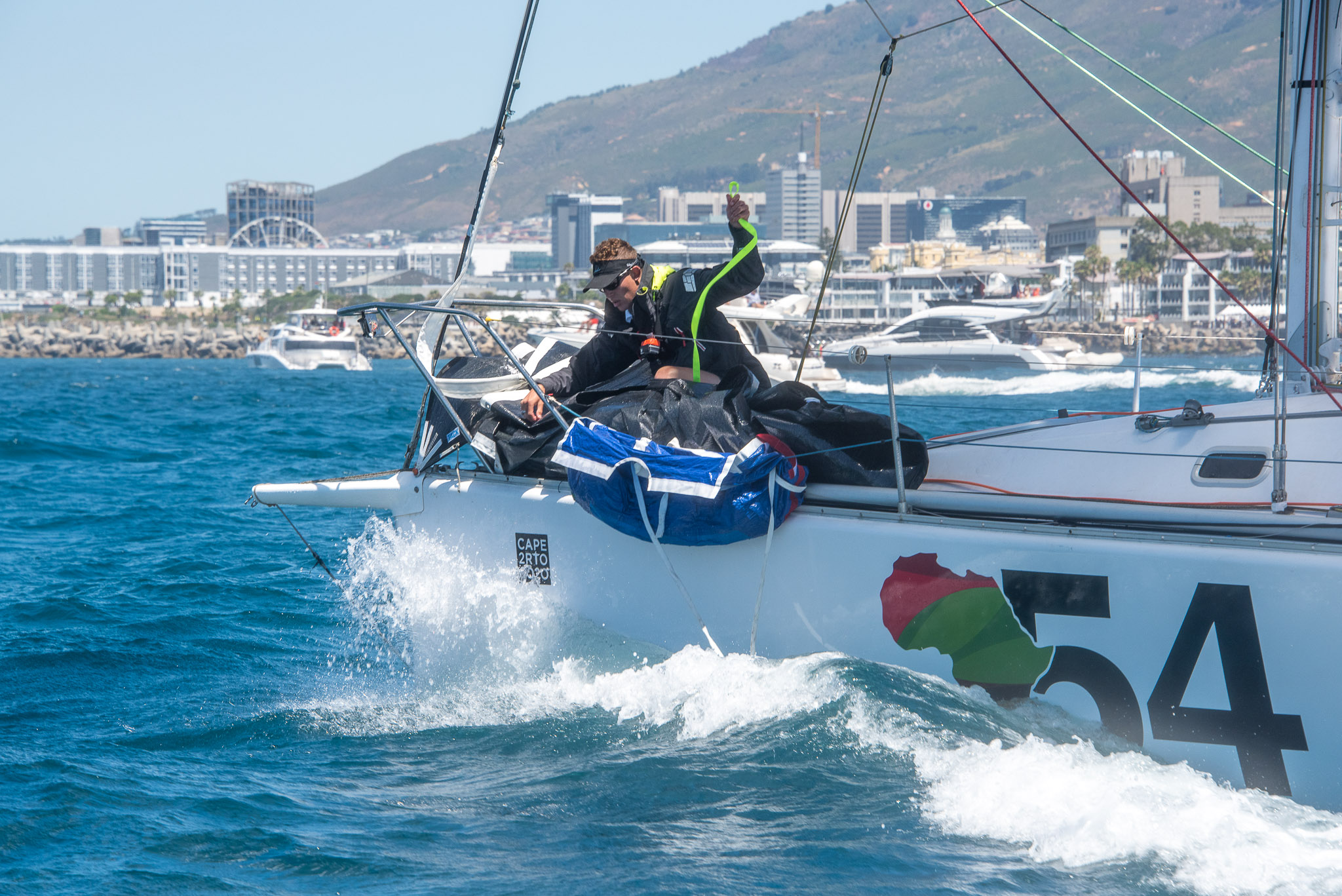 @Cape2Rio2020 First Start, 4 January