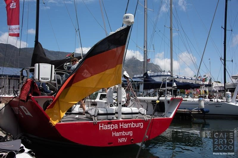 A yacht named Hamburg