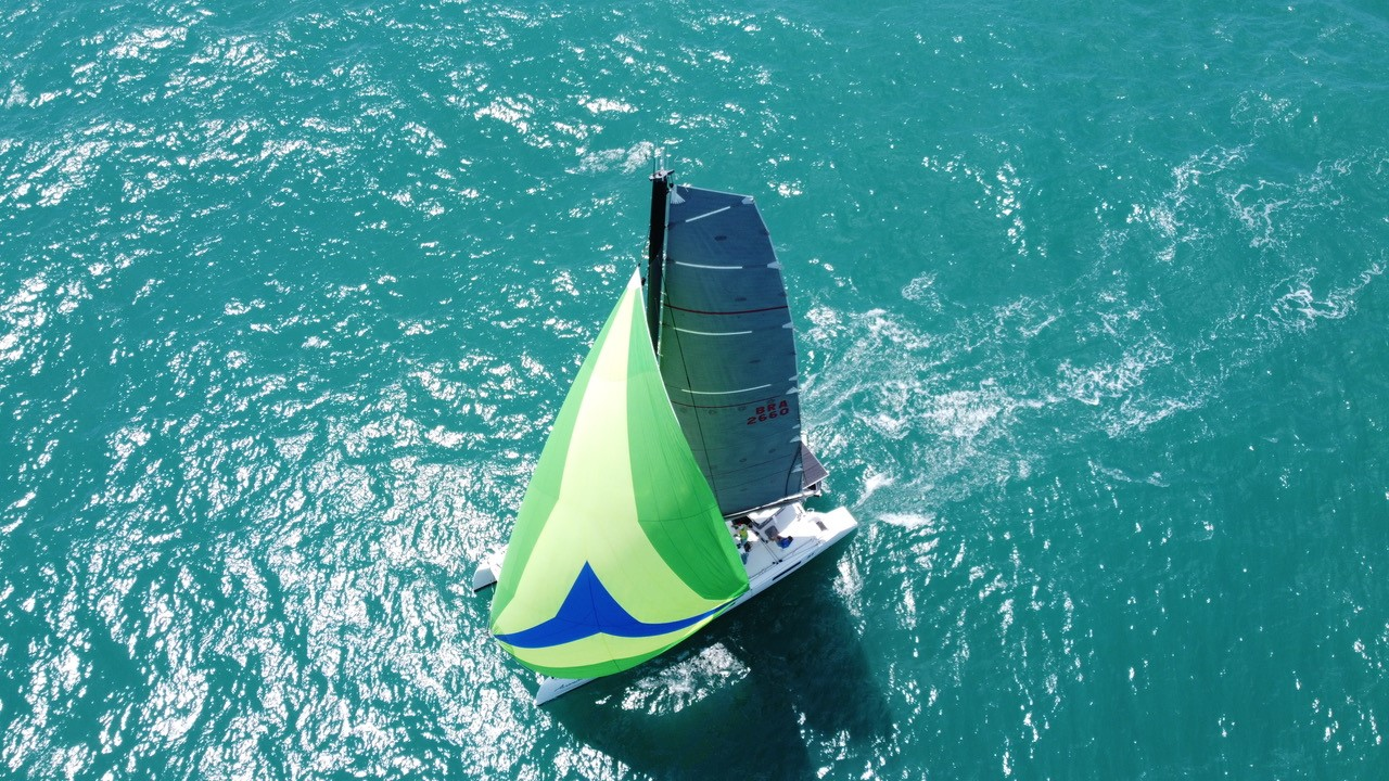 First Multihull Entry Received – Aventureiro 4